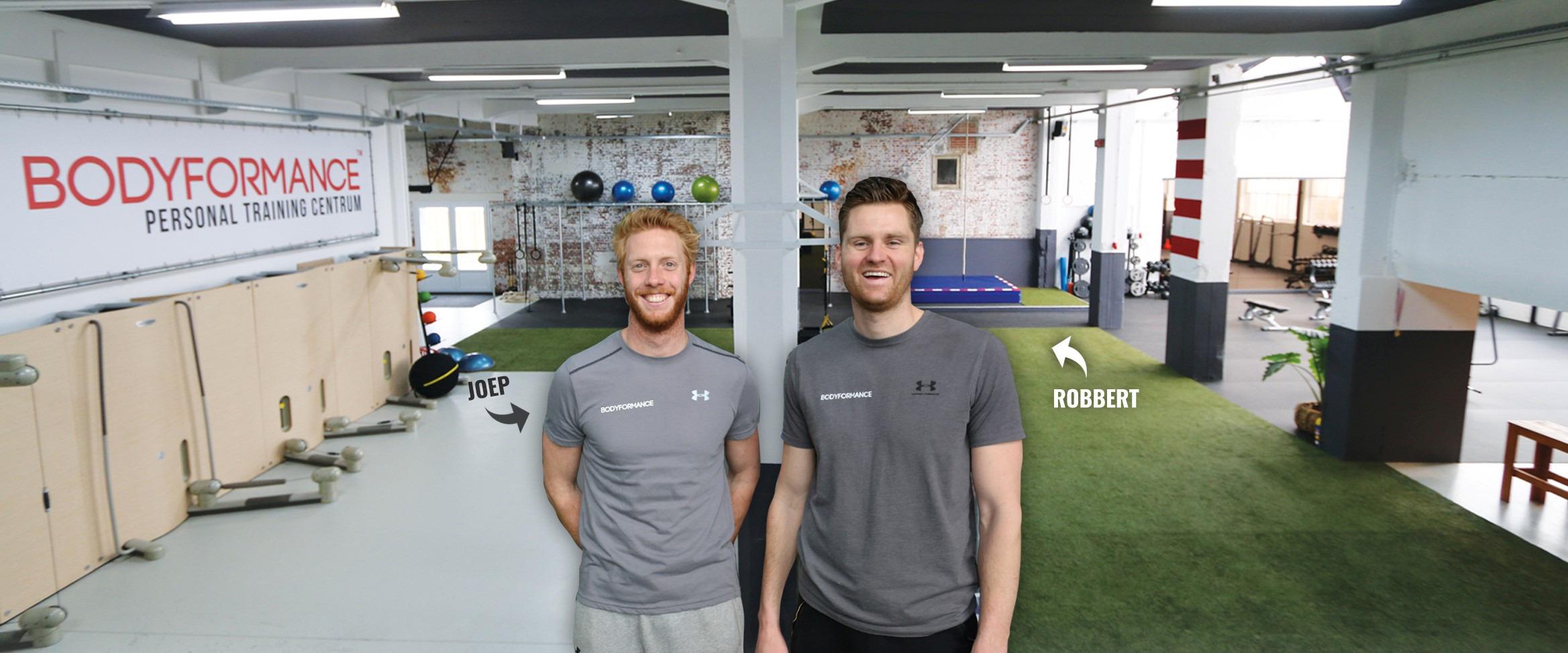 personal training Robbert en Joep